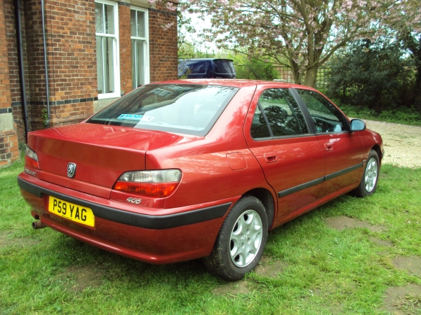 jalopies car collection 1996 p peugeot 406 executive 2 litre turbo vulcan red. Black Bedroom Furniture Sets. Home Design Ideas